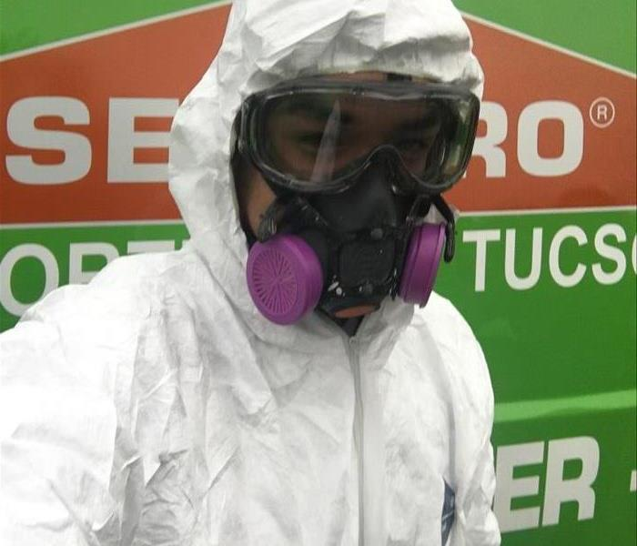 employee in Personal Protective equipment